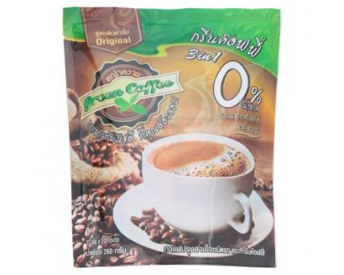 Зеленый кофе 3в1 с Натуральным заменителем сахара из травы стевия 13 гр х 20 шт