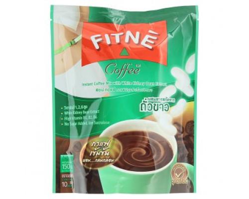 Fitne Растворимый кофе с Экстрактом белой фасоли  15 гр х 10 шт.