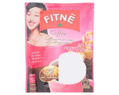 Fitne растворимый кофе с коллагеном 15 гр х 10 шт
