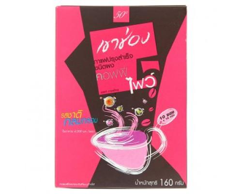 Као Shong Кофе пять мягких вкусов растворимый 16 гр х 10 шт