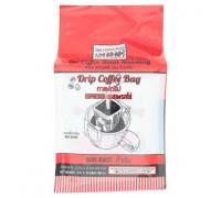 Кофе Эспрессо  сильной обжарки в фильтр пакете 10 пакетов по 8 гр.
