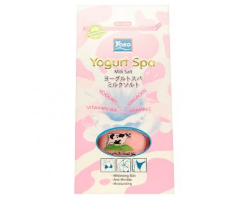СПА Соль для ванн Йогурт Yoko 300 грамм