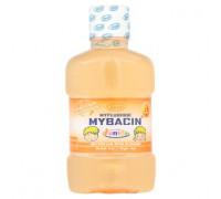 Детский ополаскиватель для рта со фтором против кариеса Апельсин Mybacin 95 мл