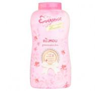 Парфюмированный тальк пудра для лица и тела Eversense 180 грамм (розовый)
