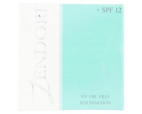 Тональный крем Zendori  тон 01 светлый защита от солнца SPF12 12 грамм