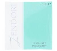 Тональный крем Zendori тон 02 бежевый защита от солнца SPF12 12 грамм