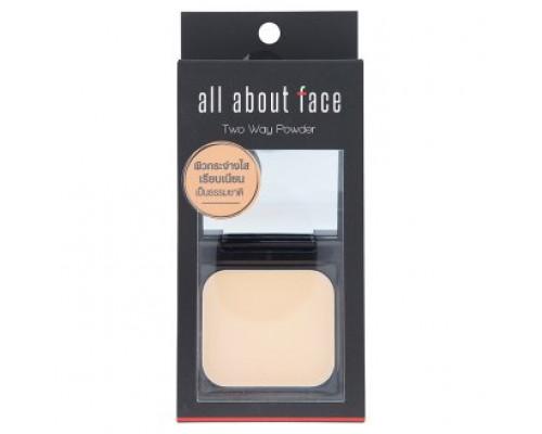 Компактная пудра, хорошо маскирующая недостатки кожи тон С1 светлый