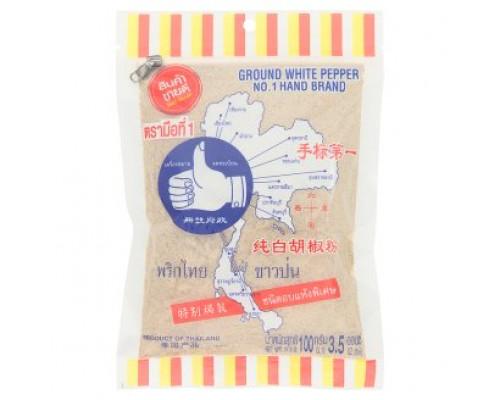 Белый молотый перец 100грамм