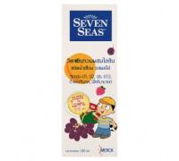 Мультивитаминный детский сироп Семь Морей для улучшения аппетита 100мл