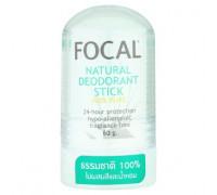 Натуральный без отдушек дезодорант кристалл Focal 60 грамм