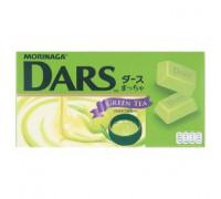 Зеленый шоколад Молочный чай Dars  45 грамм