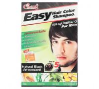 Оттеночный шампунь для мужчин цвет Натуральный Черный