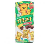 Шоколадное бисквитное печенье Lotte Koala's 37 грамм