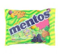 Фруктовые и мятные конфетки Mentos 100 штук
