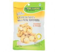 Жареные кешью и орехи макадамия с васаби Tong Garden 85 гр