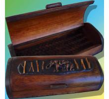 Бамбуковая шкатулка «Тайский слон»