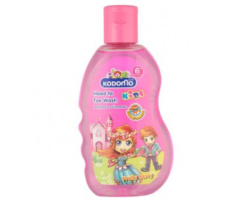 Ягодно - фруктовый шампунь для детей с 6 лет