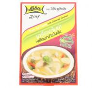 Тайский куриный суп Том Ка Кай с кокосовыми сливками Lobo 100гр