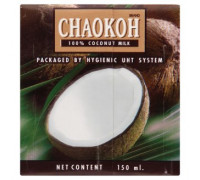 Натуральное 100% кокосовое молоко Chaokoh 150мл
