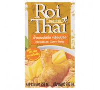 Готовый тайский суп Массаман карри на кокосовом молоке Roi Thai 250 мл