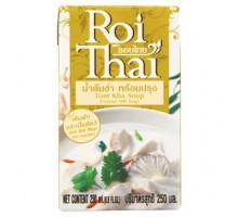 Готовая основа для тайского супа Том Ка на кокосовом молоке Roi Thai 250 мл