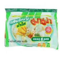 Прозрачный тайский суп - лапша МАМА быстрого приготовления брикет 50 грамм 6 штук