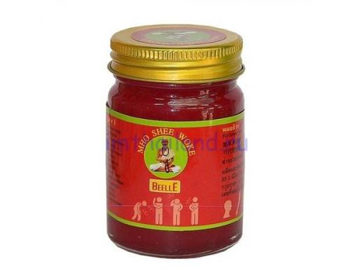Тайский бальзам красный Tiger balm red 100 гр