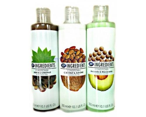 Кондиционер для волос BOOTS разные ароматы 300 мл