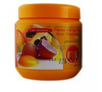 Маска для ослабленных волос с папайей и яичным желтком Carebeau 500 гр