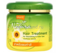 Маска для окрашенных волос Lolane с подсолнечником 250 гр