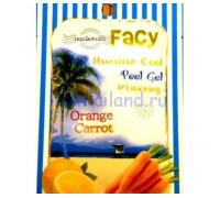 """Гель-скатка для лица """"Гавайи"""" с апельсином и морковью 15 гр"""