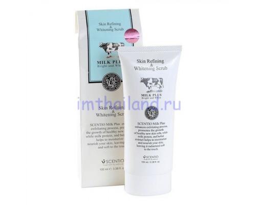 Молочный гель-скатка для лица и тела Scentio Milk Plus 100мл