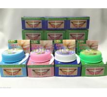 Круглая тайская зубная паста 12 шт в упаковке по 30 гр