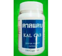 Устричный кальций Kal Cab 100 капсул