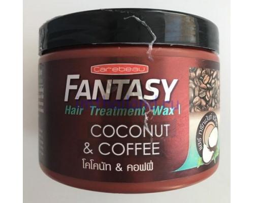 Кофейно-кокосовая маска для волос Carebeau 250 гр