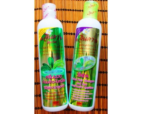 СПА кондиционер для волос Jinda Herbal с рисовым молочком 250 мл