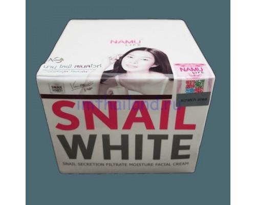 Улиточный крем для лица Snail White Plus 50мл