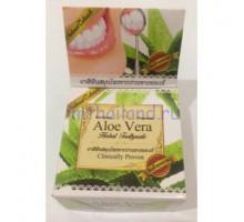 Тайская круглая зубная паста «Алоэ» 30 гр