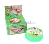 Тайская круглая зубная паста Мята и гвоздика 25 гр