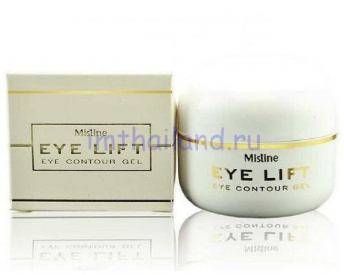Гель для кожи вокруг глаз с лифтинг-эффектом Mistine 10гр