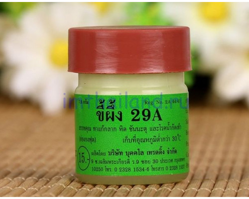 Тайская мазь от псориаза 29А