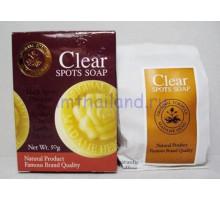 Отбеливающее мыло Мадам Хенг Clear Spots Soap Madame Heng 50 гр