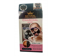 Тайская очищающая крем маска для лица с древесным углем Natural 100гр