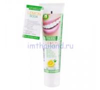 Тайская зубная паста Sparkle с экстрактом лимона 90 гр