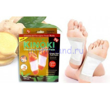 Детоксикационный пластырь Kinoki для ног 10 шт