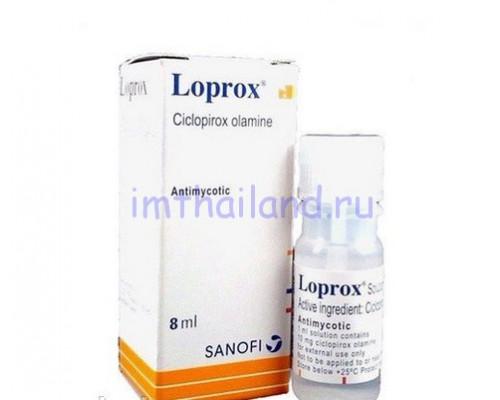 Средство от грибка ногтей и кожи Loprox 8 мл