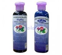 Тайский шампунь от выпадения волос с синим чаем 350 мл