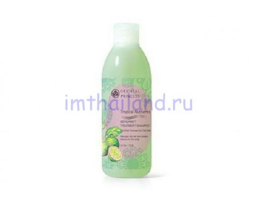 Лечебный шампунь с бергамотом для жирных волос 250 мл