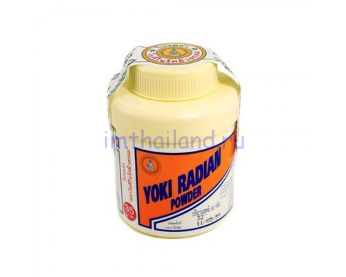 Антибактериальный тайский тальк Yoki против неприятного запаха 60гр