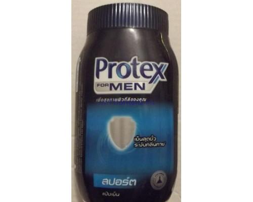 "Охлаждающий тальк для тела с ""мужским"" приятным ароматом Protex 50гр"